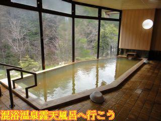 旅館御岳、大浴場内湯