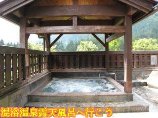 バーデェハウス露天風呂しゃくなげの湯ジャグジー風呂