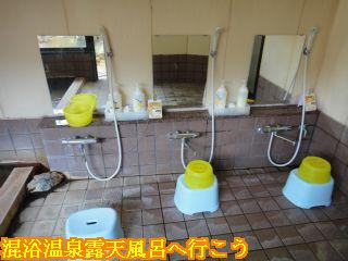 お宿栄太郎、内湯洗い場