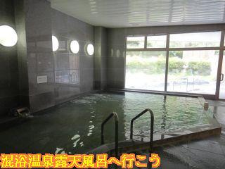 ふたこえ温泉コージュ高鷲、大浴場内風呂