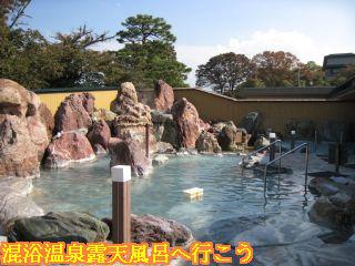 カルナの館庭園大露天風呂全景