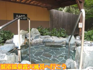 立山の湯(源泉掛け流し露天風呂)