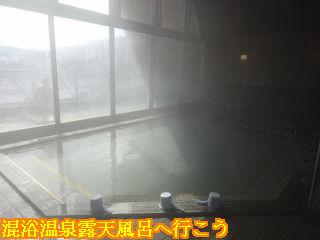 流葉温泉ニュートリノ、大浴場内風呂