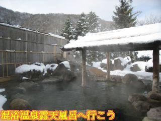 岡田旅館・殿方庭園露天風呂
