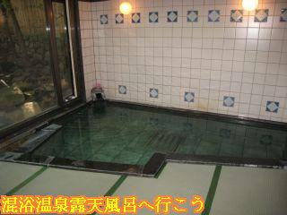 臨泉楼 柏屋別荘大浴場殿方湯「金采の湯」内風呂