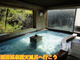 天龍の湯と天竜峡の風景