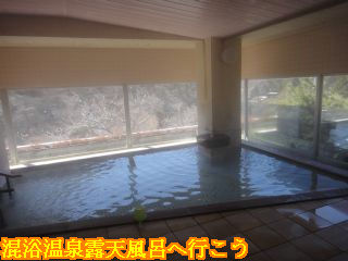 塩沢温泉 七峰館、展望大浴場