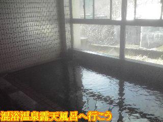 アルペン浴場男湯内風呂です