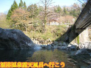 新穂高の湯 混浴露天風呂