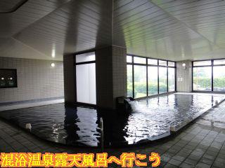 砺波ロイヤルホテル大浴場砺波の湯内風呂