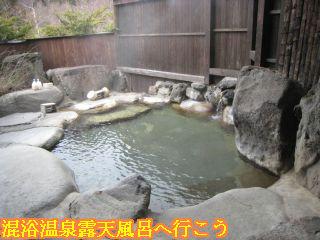 旅館 焼乃湯、女性露天風呂