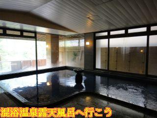 下呂温泉 山形屋、展望大浴場内風呂
